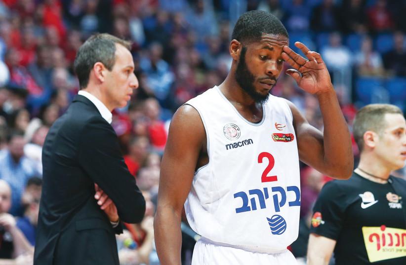 Hapoel Jerusalem basketball (photo credit: DANNY MARON)
