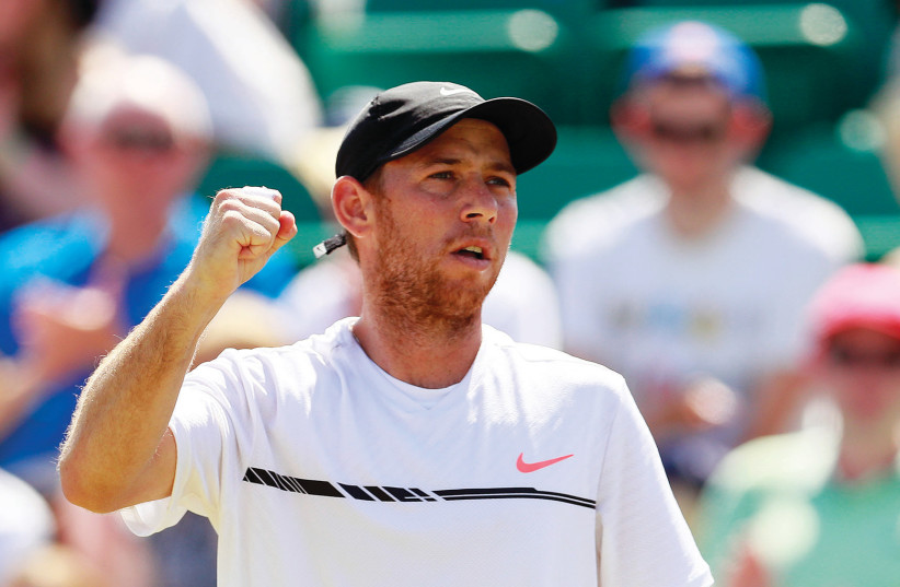 Dudi Sela (photo credit: REUTERS)