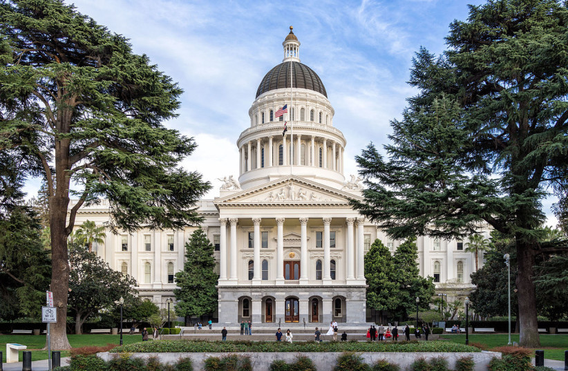 California state Capitol  (photo credit: ANDRE M/WIKIMEDIA COMMONS)