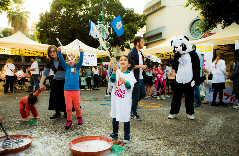 March 13, 2018 marks the 12th annual Good Deeds Day event taking place throughout Israel (photo credit: Courtesy)