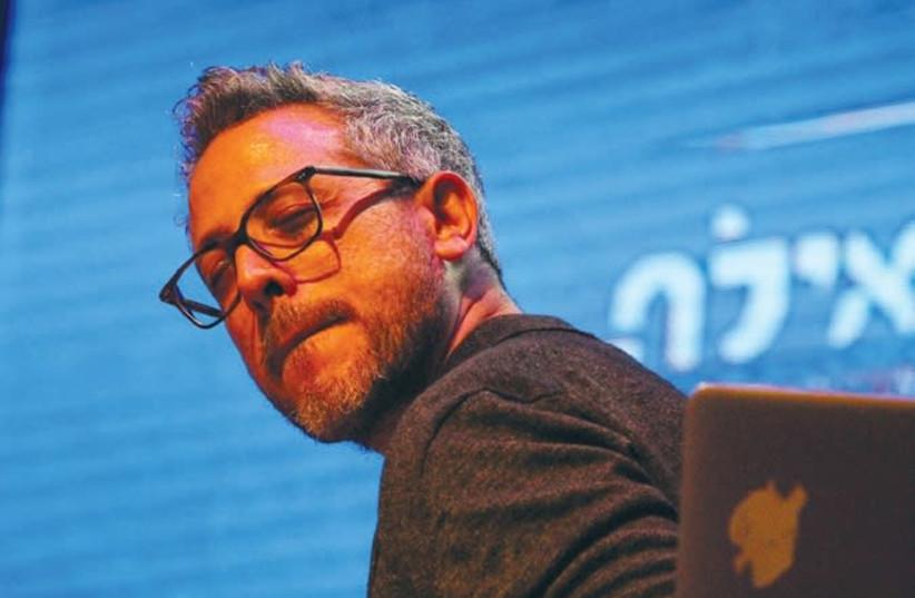 Drummer Ziv Ravitz (photo credit: BARRY DAVIS)