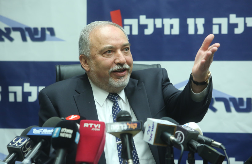 Avigdor Liberman (photo credit: MARC ISRAEL SELLEM/THE JERUSALEM POST)