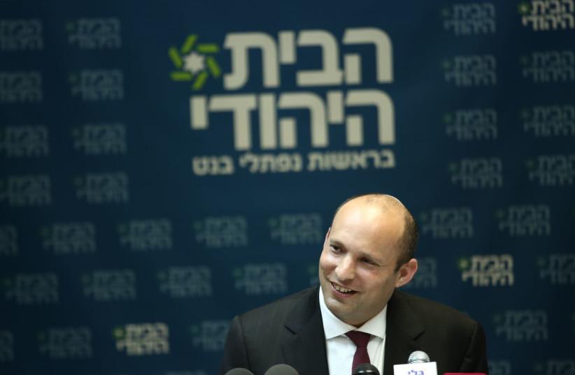 Bayit Yehudi chairman Naftali Bennett (photo credit: EHUD AMITON/TPS)