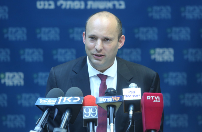 Education Minister Naftali Bennett (photo credit: MARC ISRAEL SELLEM/THE JERUSALEM POST)