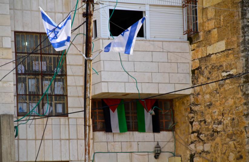 The Beit Hamachpela building in Hebron. (photo credit: TOVAH LAZAROFF)
