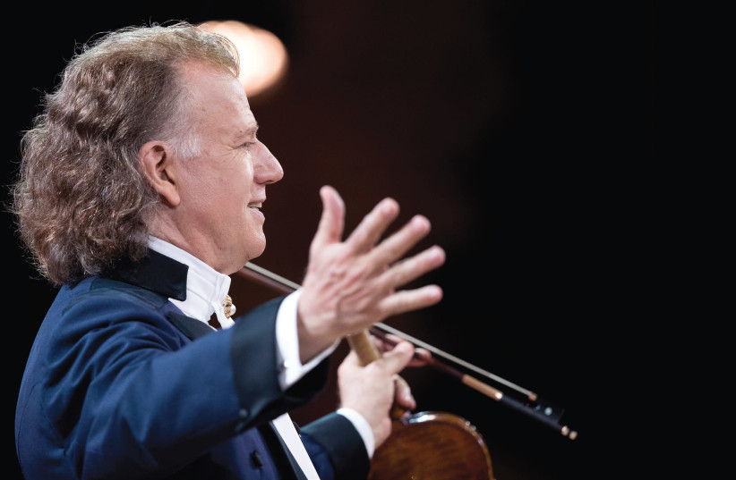 Andre Rieu (photo credit: ANDRE RIEU PRODUCTIONS)