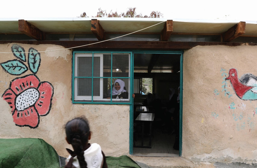 A Palestinian school. (photo credit: REUTERS)