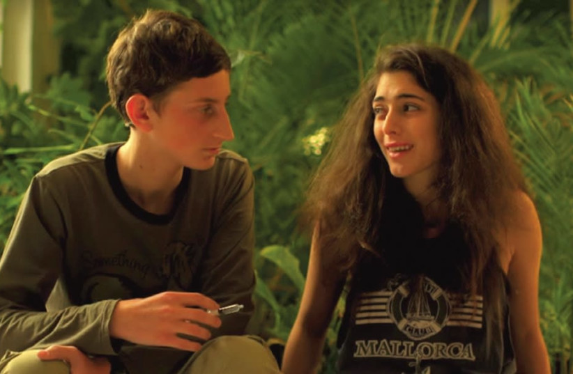 Actors appear in 'Euphoria.' 'It's about what life looks like for teens when parents don't exist.' (photo credit: YOUTUBE)