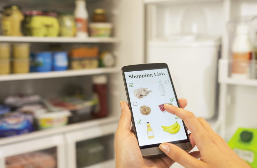 Smart refrigerators let you check their contents from anywhere via your smartphone (photo credit: TNS)