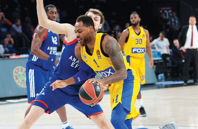 Maccabi Tel Aviv could really use forward Deshaun Thomas back in peak form as it hosts Khimki Moscow in another crucial Euroleague test tonight at Yad Eliyahu Arena.  (photo credit: UDI ZITIAT)