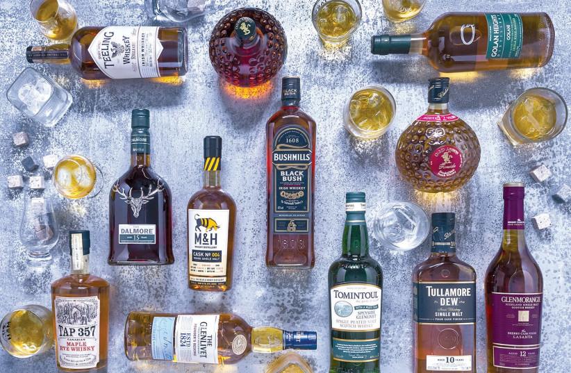 A WORLD of whisky – international and Israeli. (photo credit: WHISKY LIFE)