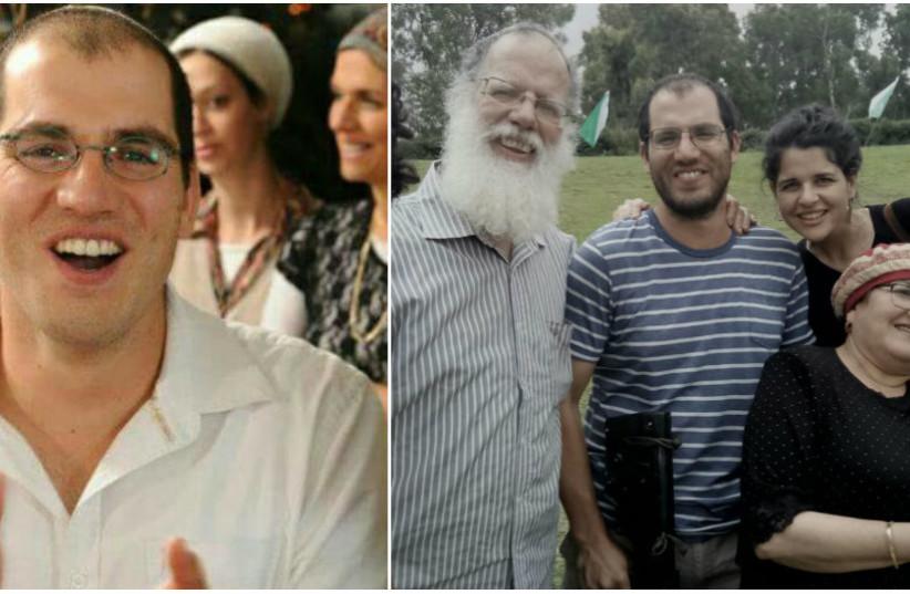 "Adiel Kolman Z""L and his family (photo credit: COURTESY OF THE KOLMAN FAMILY)"