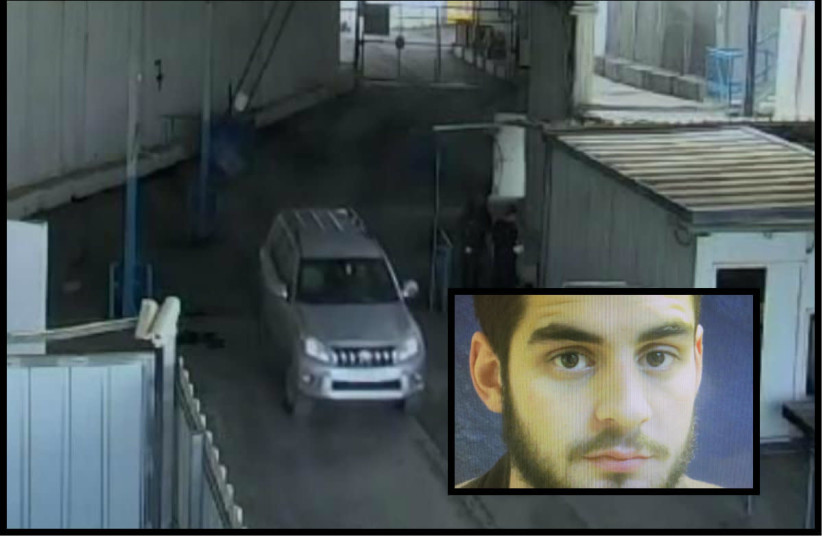 A French consulate worker alleged to have smuggled weapons to Hamas in Gaza. (Shin Bet) (photo credit: SHIN BET)