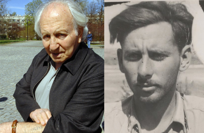 Left: NOAH KLIEGER shows his Auschwitz number tattoo. Right: URI AVNERY in his army uniform from the War of Independence in 1948 (photo credit: GPO/WIKIPEDIA)