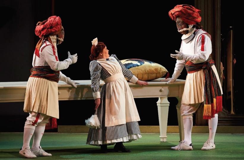 PRIZE-WINNING director Atom Egoyan presents Mozart's 'Cosi Fan Tutte,' set in a girls' finishing school (photo credit: PR)