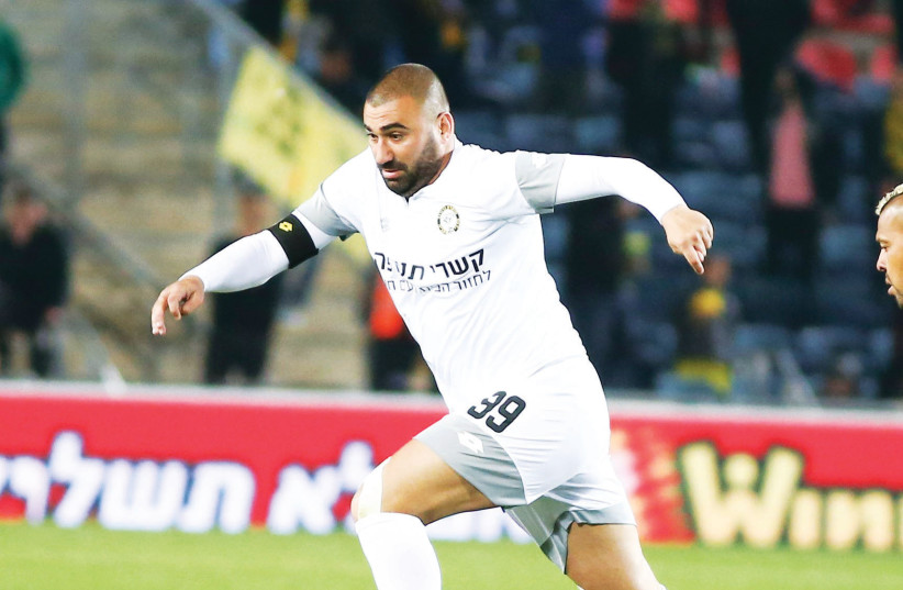It is already too late for Maccabi Netanya midfielder Eran Levy to realize his full potential, but he has proven time and again this season that few players in the Premier League can compete with his genius on the pitch. (photo credit: DANNY MARON)