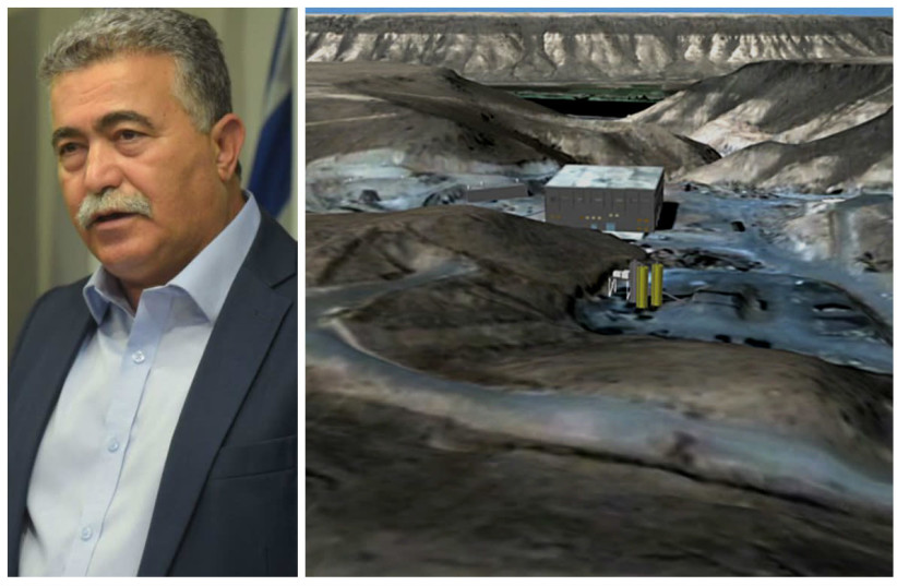 Former Defense Minister Amir Peretz and the Syrian reactor destroyed in 2007 (photo credit: REUTERS + AFP)