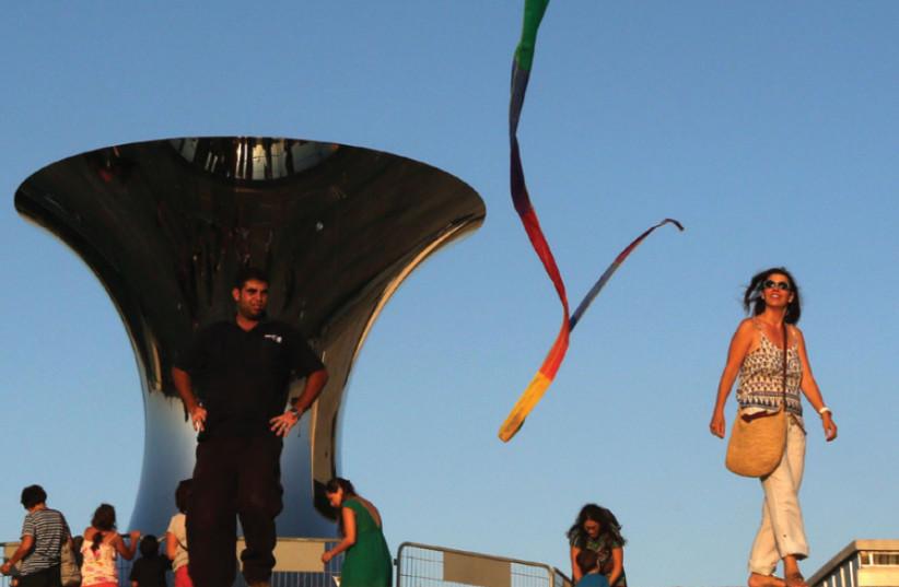 The Israel Museum's kite-flying festival (photo credit: MARC ISRAEL SELLEM)
