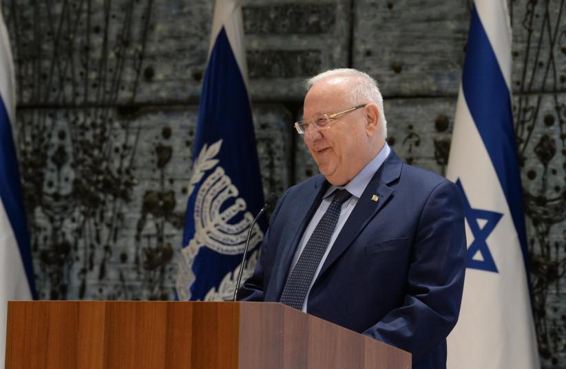 President Reuven Rivlin (photo credit: MARK NEYMAN / GPO)