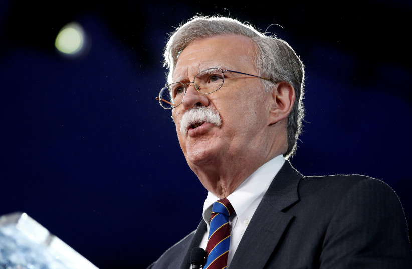 Former U.S. Ambassador to the United Nations John Bolton (photo credit: REUTERS/JOSHUA ROBERTS)