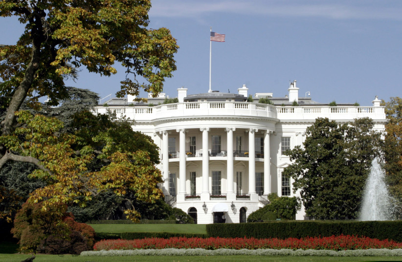 The White House is pictured in Washington D.C (photo credit: REUTERS)