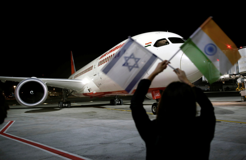 115 Indian nationals in Israel are evacuated to India