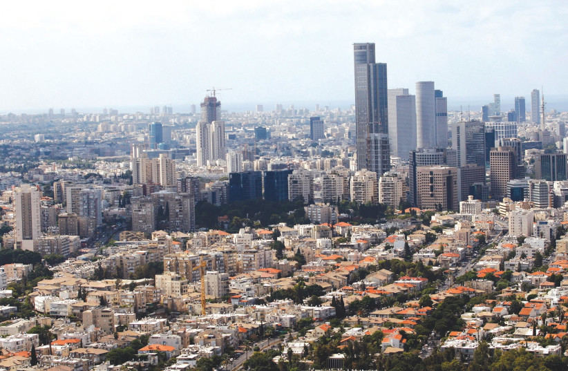 Tel Aviv skyline  (photo credit: REUTERS)