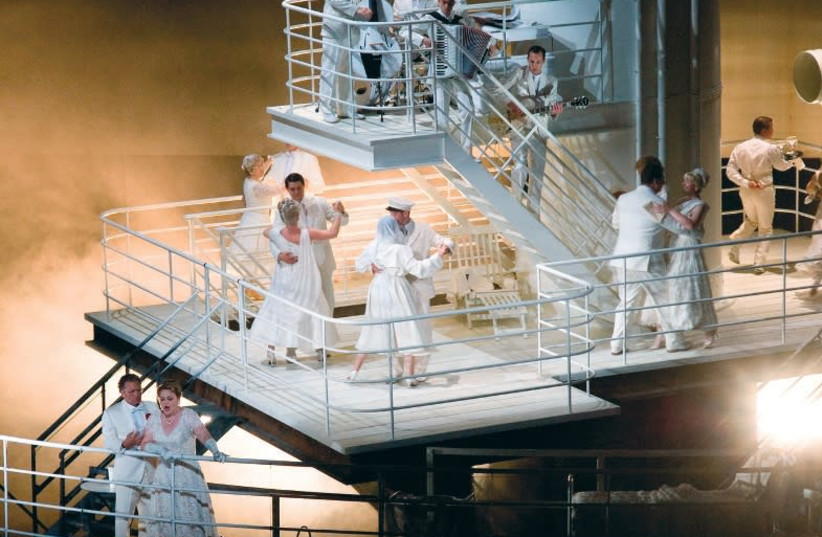 The Passenger - An opera about women sent to Auschwitz  (photo credit: KARL FORESTER)
