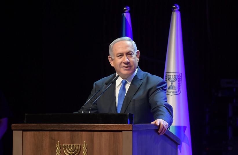 Prime Minister Benjamin Netanyahu (photo credit: AMOS BEN GERSHOM, GPO)
