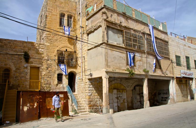 Beit Rachel and Beit Leah in Hebron (photo credit: TOVAH LAZAROFF)