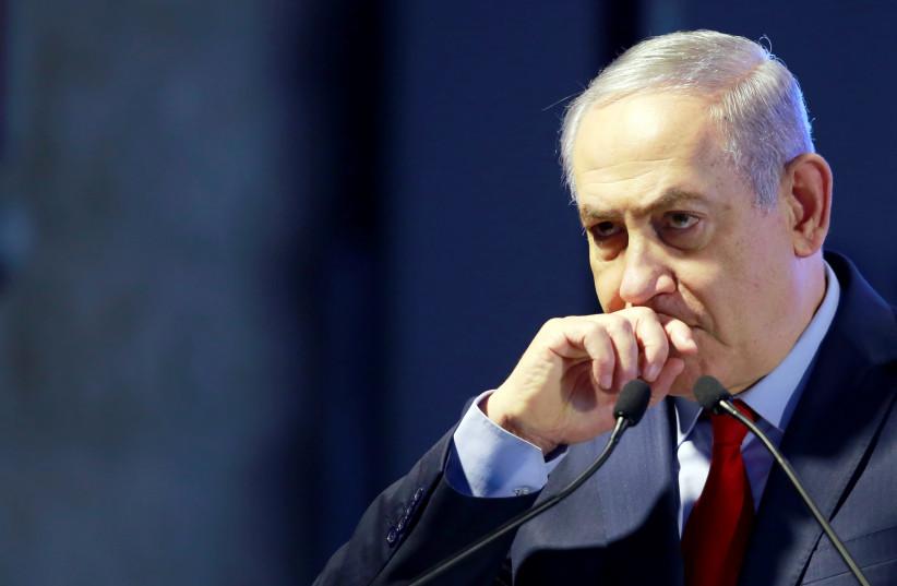 Prime Minister Benjamin Netanyahu (photo credit: AMIR COHEN/REUTERS)