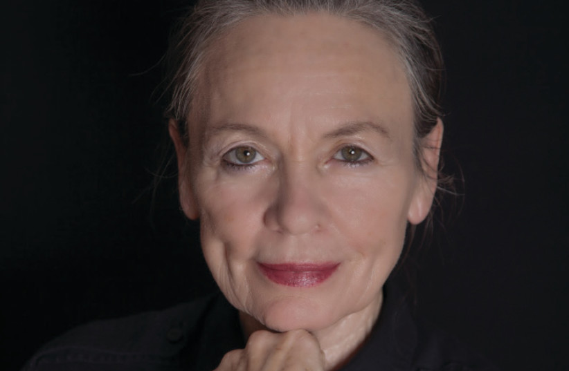 American musician and performance artist Laurie Anderson (photo credit: SIMON HALLSTORM)