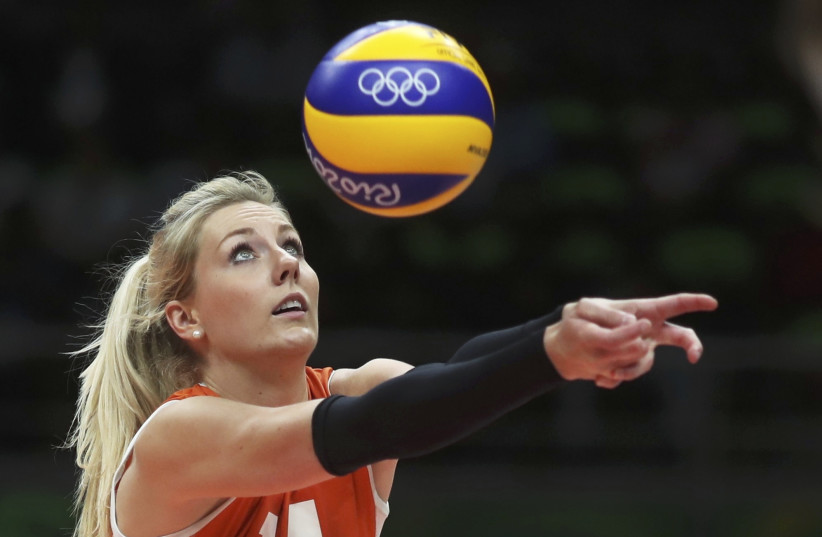 Women's volleyball at the 2016 Rio Olympics (photo credit: REUTERS)