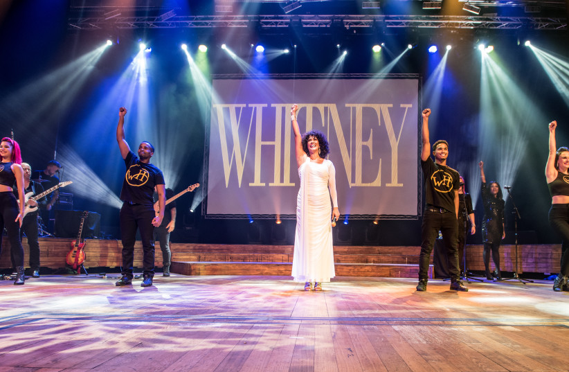 The Greatest Love of All: The Whitney Houston Show, in Tel Aviv, April 2018 (photo credit: SHLOMI PINTO)