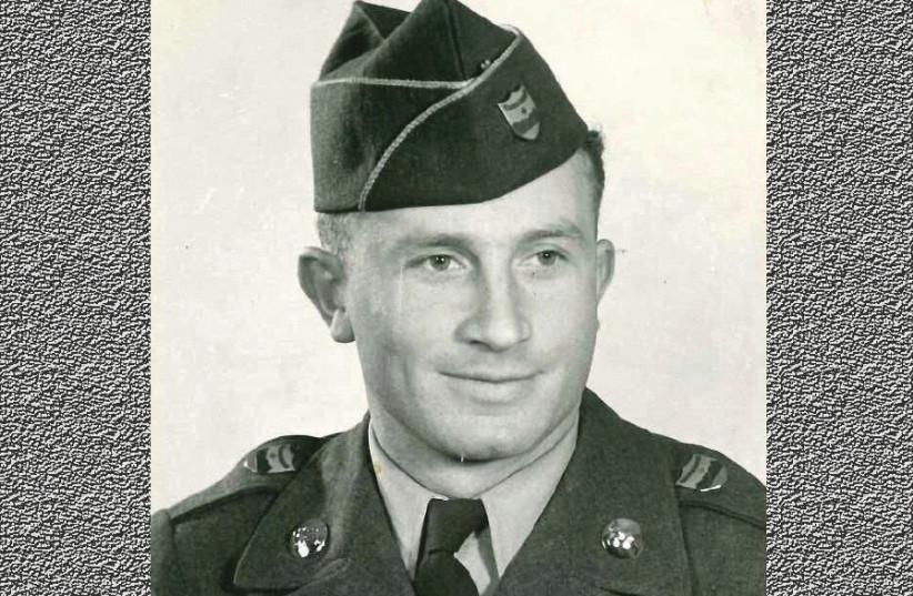 Samuel Gutman in his US army uniform (photo credit: Courtesy)