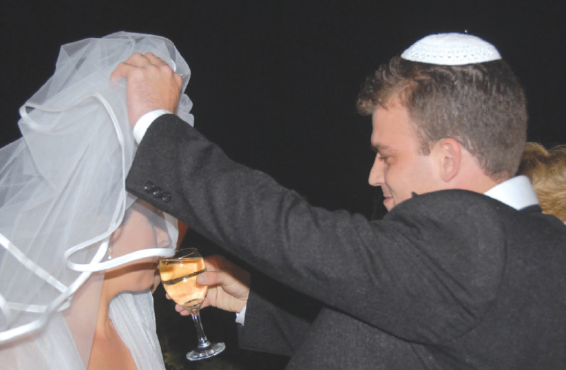 A wedding in Israel (photo credit: COURTESY ITAI BENVENISTI)