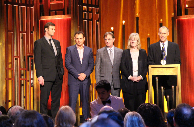 The cast and crew of The Americans at the 74th Annual Peabody Awards (photo credit: WIKIMEDIA COMMONS/THE PEABODY AWARDS)