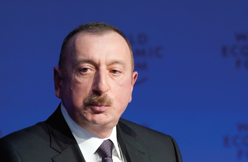 Ilham Aliyev, President of Azerbaijan (photo credit: REUTERS)