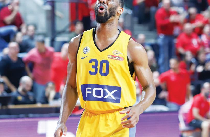 Maccabi Tel Aviv's Norris Cole (photo credit: DANNY MARON)