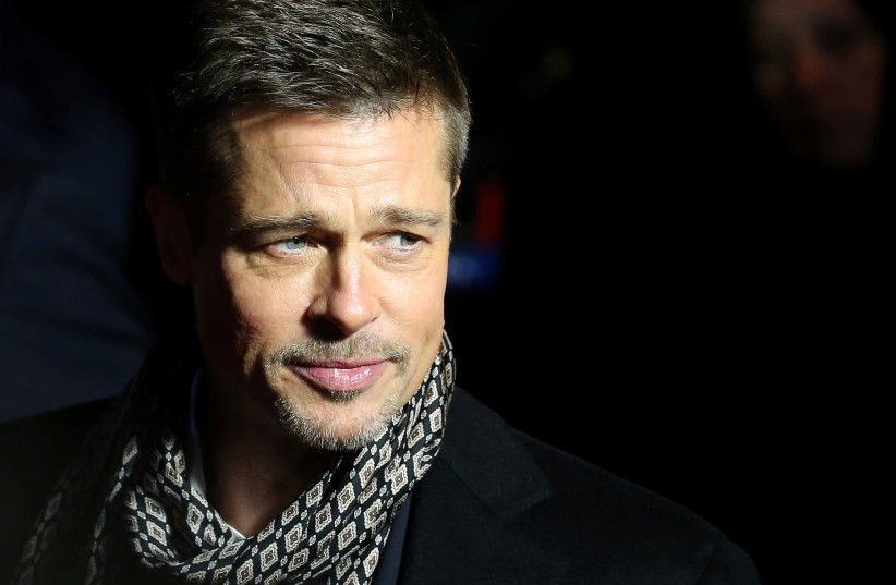 "Actor Brad Pitt arrives at the premiere of the film ""Allied"" in Madrid, November 22, 2016. (photo credit: JUAN MEDINA / REUTERS)"