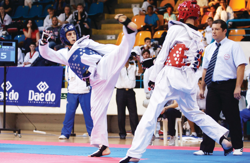 Israeli Taekwondo (photo credit: ISRAEL TAEKWONDO FEDERATION)