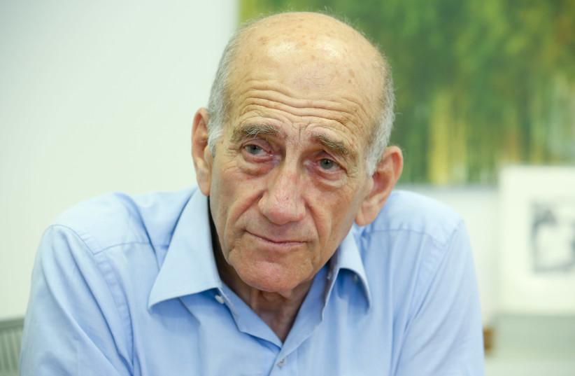 Former Prime Minister Ehud Olmert (photo credit: MARC ISRAEL SELLEM/THE JERUSALEM POST)