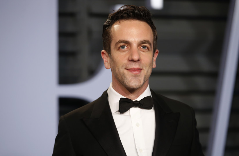 Actor BJ Novak (photo credit: DANNY MOLOSHOK/REUTERS)
