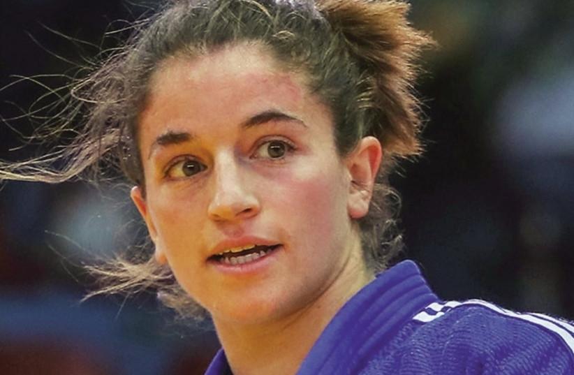 Israeli judoka Timna Nelson-Levy (photo credit: SABAU GABRIELA/ INTERNATIONAL JUDO FEDERATION)