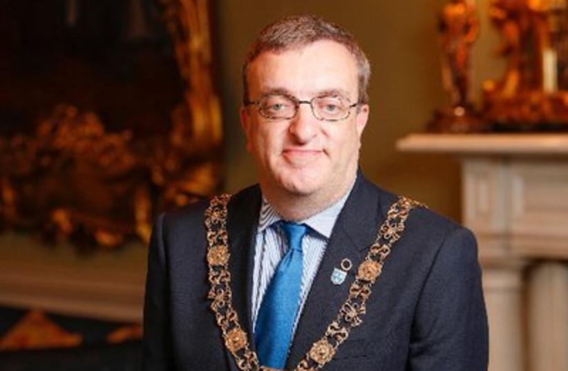 Dublin Mayor Mícheál Mac Donncha (photo credit: @LORDMAYOROFDUBLIN/TWITTER)