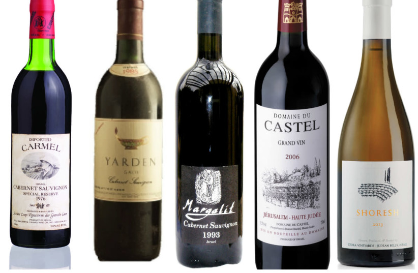 The five wines which tell the story of the Israel wine revolution (photo credit: Courtesy)