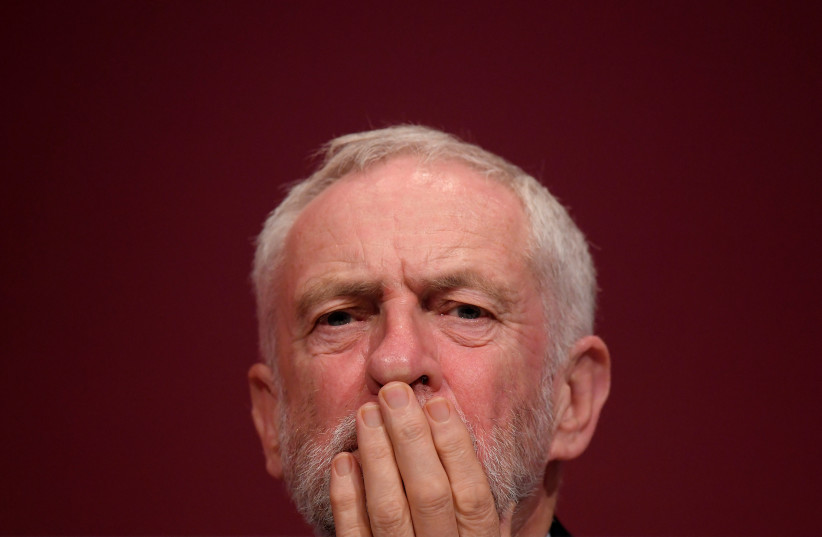 Britain's opposition Labour Party Leader Jeremy Corbyn (photo credit: REUTERS/TOBY MELVILLE)