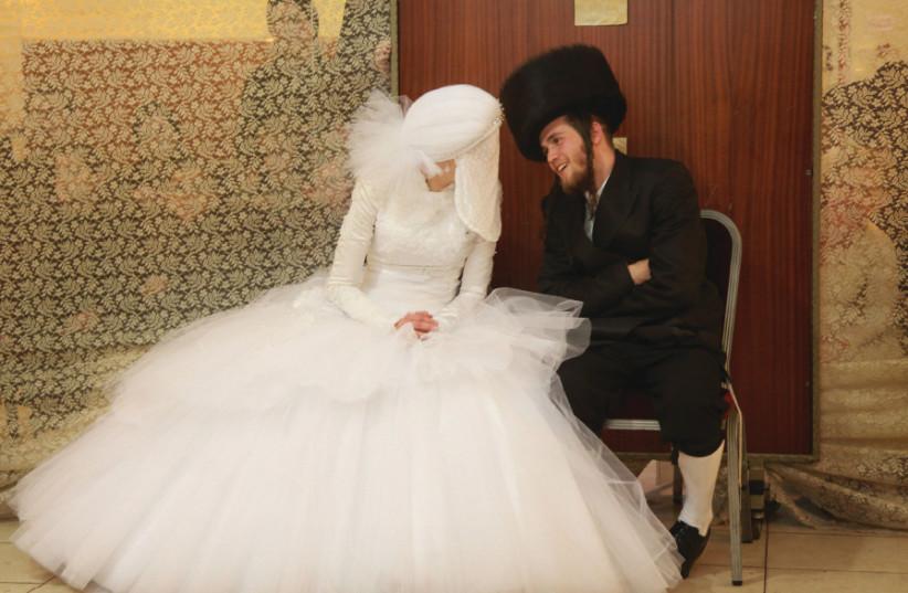 A HAREDI wedding in Bnei Brak (photo credit: MARC ISRAEL SELLEM)