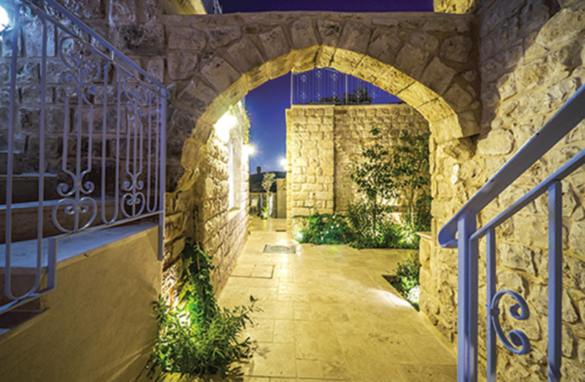 THE WAY INN in Safed: 'We want it to be not just a hotel but a center for spirituality' (photo credit: Courtesy)