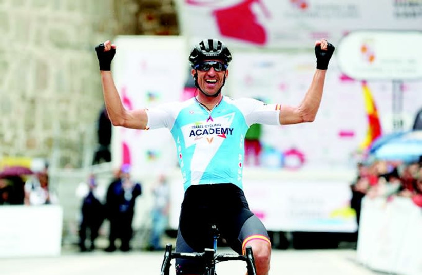Israel Cycling Academy rider Ruben Plaza (photo credit: ICA)